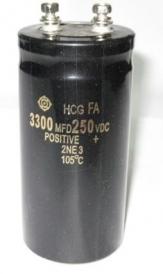 Tụ hóa 250v-3300 microF