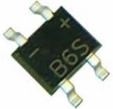 Diode Cầu 0.5A (MB6S)