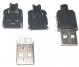 Jac USB A (vỏ nhựa)